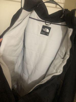 NORTH FACE thick black zipper jacket for Sale in Alexandria, VA