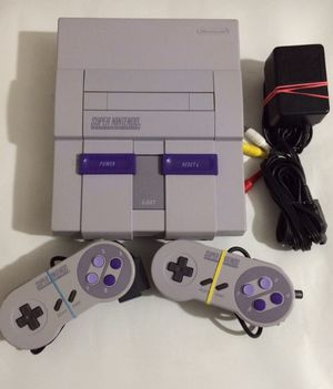 Super Nintendo, comes with all connections, Controller and 1 Game $90. Other games available, message for individual pricing. for Sale in Corpus Christi, TX