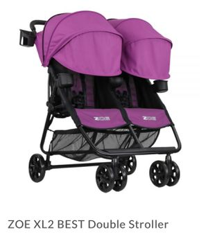 Zoe double stroller, extremely light! for Sale in Vienna, VA