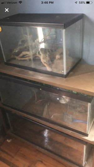 Various tanks and supplies for Sale in Wichita, KS