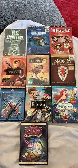 Disney dvd movies for Sale in Covina, CA