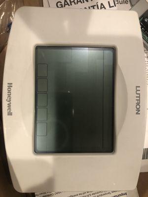 Lutron Honeywell HVAC White thermostat for Sale in San Antonio, TX