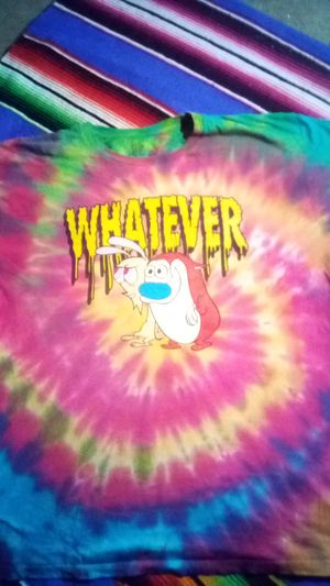 Ren and stimpy tie dye shirt whatever for Sale in San Diego, CA