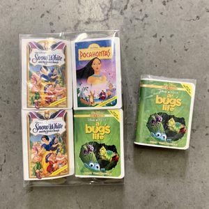 1995 NIB McDonalds & Disney Masterpiece Collection VHS toys for Sale in Murrieta, CA
