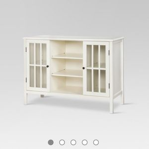 Windham Two Door With Shelves Storage Cabinet by Threshold from Target for Sale in Milwaukie, OR