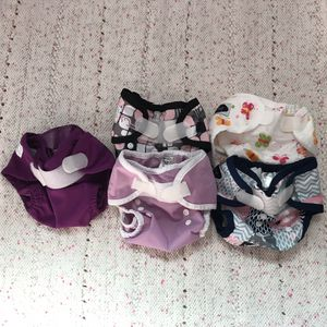 Newborn Cloth Diaper Covers Set of 5 for Sale in Orlando, FL