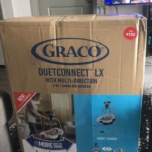 Graco DuetConnect LX Baby Swing and Bouncer for Sale in Nashville, TN