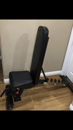 Adjustable bench press/ workout bench/ utility work weight bench for Sale in Alhambra, CA