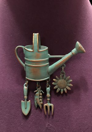 Adorable Watering Can Pin/Broach for Sale in Gainesville, VA