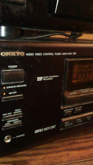 Receiver amp audio /video onkyo for Sale in Modesto, CA