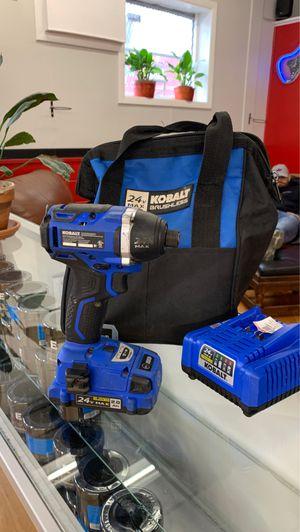 Kobalt brushless 24V. Impact drill for Sale in Bethel, CT