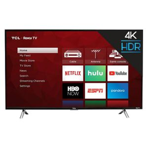 """TCL 43"""" Roku 4K UHD HDR Smart TV (43S425) for Sale in Arcadia, CA"""