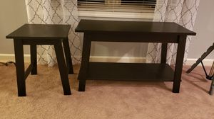 Cheap end table and TV stand for Sale in Fort Wayne, IN
