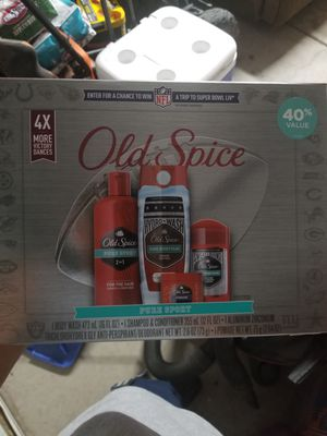 Old spice pure sport gift pack for Sale in ELEVEN MILE, AZ