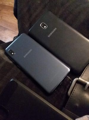 Samsung J7 Crown and Samsung A10E for Sale in Mayfield, KY