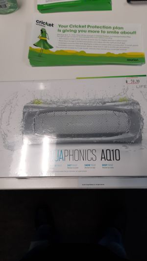 Lifeproof Aquaphonics AQ10 Bluetooth Speaker for Sale in South Amherst, OH