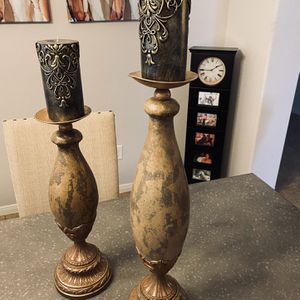 Candle Holders for Sale in Richmond, TX