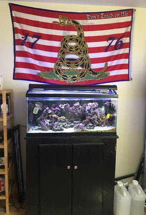 Salt water fish tank for Sale in Philadelphia, PA