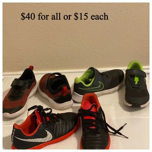 Kids size 1 Nike shoes. for Sale in Dallas, TX