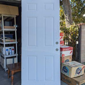 """Steel Universal Front Door 32"""" x 80"""" for Sale in Pico Rivera, CA"""
