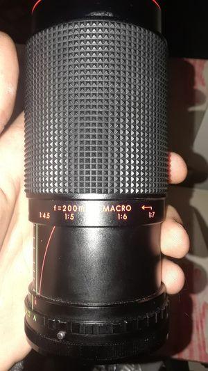 Variable zoom 52mm camera lens for Sale in Philadelphia, PA