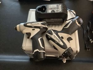 Makita 10.8 Drill and Nut Driver for Sale in Oakton, VA
