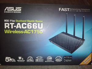 Asus dualband gigabit router for Sale in Henderson, NV