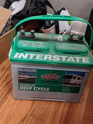 *New in Box* Deep Cycle Marine/RV Battery for Sale in Denver, CO