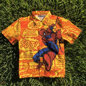 Spider Man comic button up for Sale in Spring, TX
