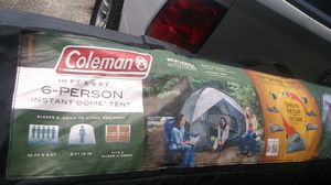 Coleman 10x9 6 person easy up tent for Sale in Brandon, FL