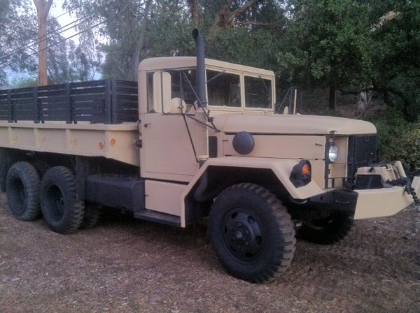 Military Truck 1967 M35A2 2 5 Ton Deuce and a Half and matching M105  Trailer for Sale in El Cajon, CA - OfferUp