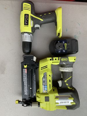 Ryobi set with one battery, no charger for Sale in Houston, TX
