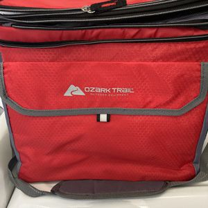 Ozark Trail 6 Can Cooler with Expandable Top - Red for Sale in Mission Viejo, CA