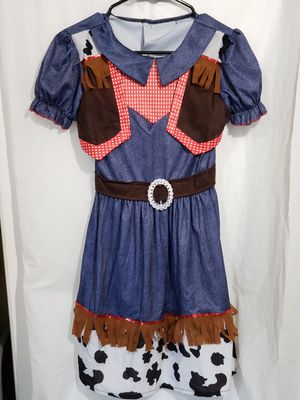 Girls Cowgirl Costume Sz-8/10 for Sale in Camp Hill, PA