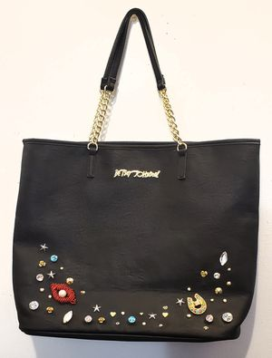 Betsey Johnson black oversized tote for Sale in Brooklyn, NY