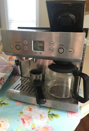 Krups coffee maker and cappuccino machine for Sale in Cary, NC