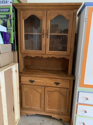 China cabinet 2 pieces for Sale in Shelton, CT