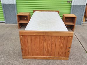 Twin bed frame for Sale in Sun City, TX