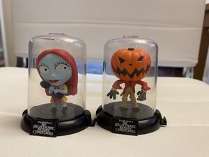 Nightmare Before Christmas Domez Collectors Figures, LOT Of 2 Different Figs. for Sale in Kenmore, WA