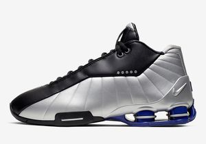 Nike Shox BB4 Black Metallic Silver Vince Carter Size 11 AT7843-001 New Men's Shoes for Sale in Garfield, NJ