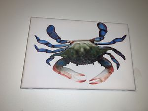 Crab canvas for Sale in Pasadena, MD