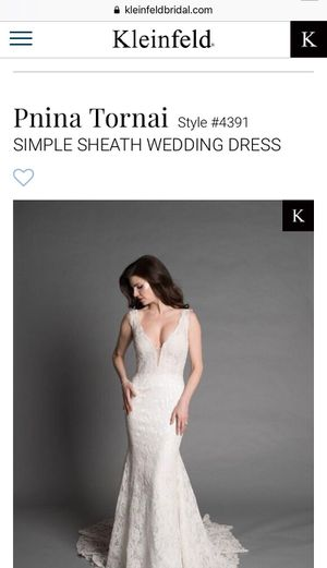 Pnina Tornai wedding dress for Sale in Sicklerville, NJ