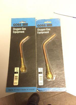 Goss welding replacement tips for Sale in Detroit, MI