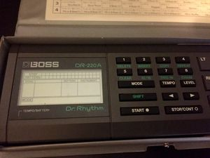 BOSS DR 220A Drum Machine for Sale in Blountville, TN