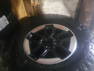 New Tires and wheels is for a jeep wraingler for Sale in SeaTac,  WA