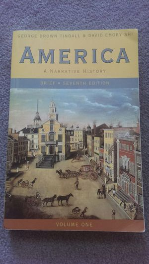 America: A Narrative History for Sale in Pittsburgh, PA