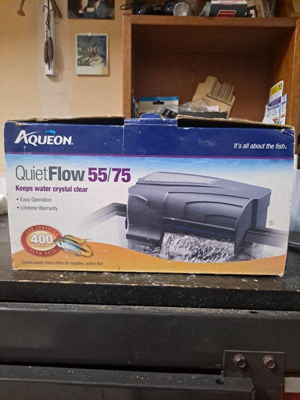 QuietFlow,Aqueon, 55/75, Aquarium Power Filter