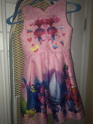 Poppy Trolls Dress (Little Girls) for Sale in Philadelphia, PA