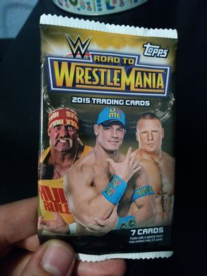 Topps Company Road to Wrestlmania 2015 Trading Cards(Brand New Sealed!) for Sale in Los Angeles, CA