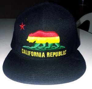 BLK RASTA CALI SNAPBACK for Sale in Bakersfield 3528e672866f